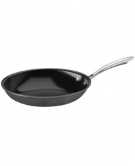 Cuisinart's GreenGourmet(tm)line paves the way in eco-friendly cookware with a ceramic-based open skillet that heats up in less time using less energy and has riveted stainless steel handles that are made from 70% recycled materials. Lifetime warranty.